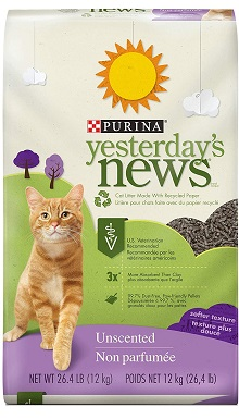 Yesterday's News Purina Non Clumping Paper Cat Litter