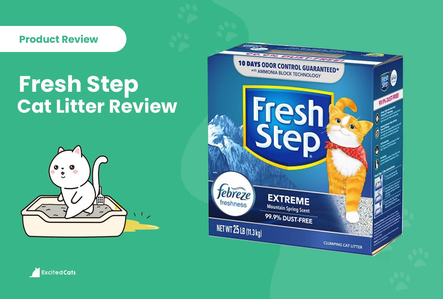 fresh step litter review