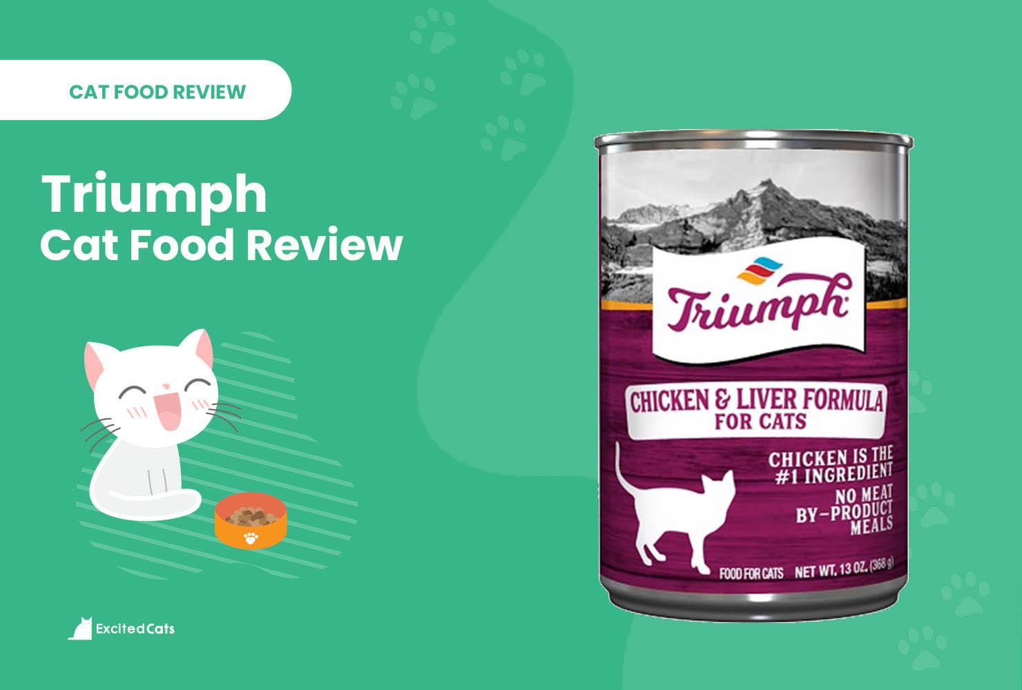 triumph cat food