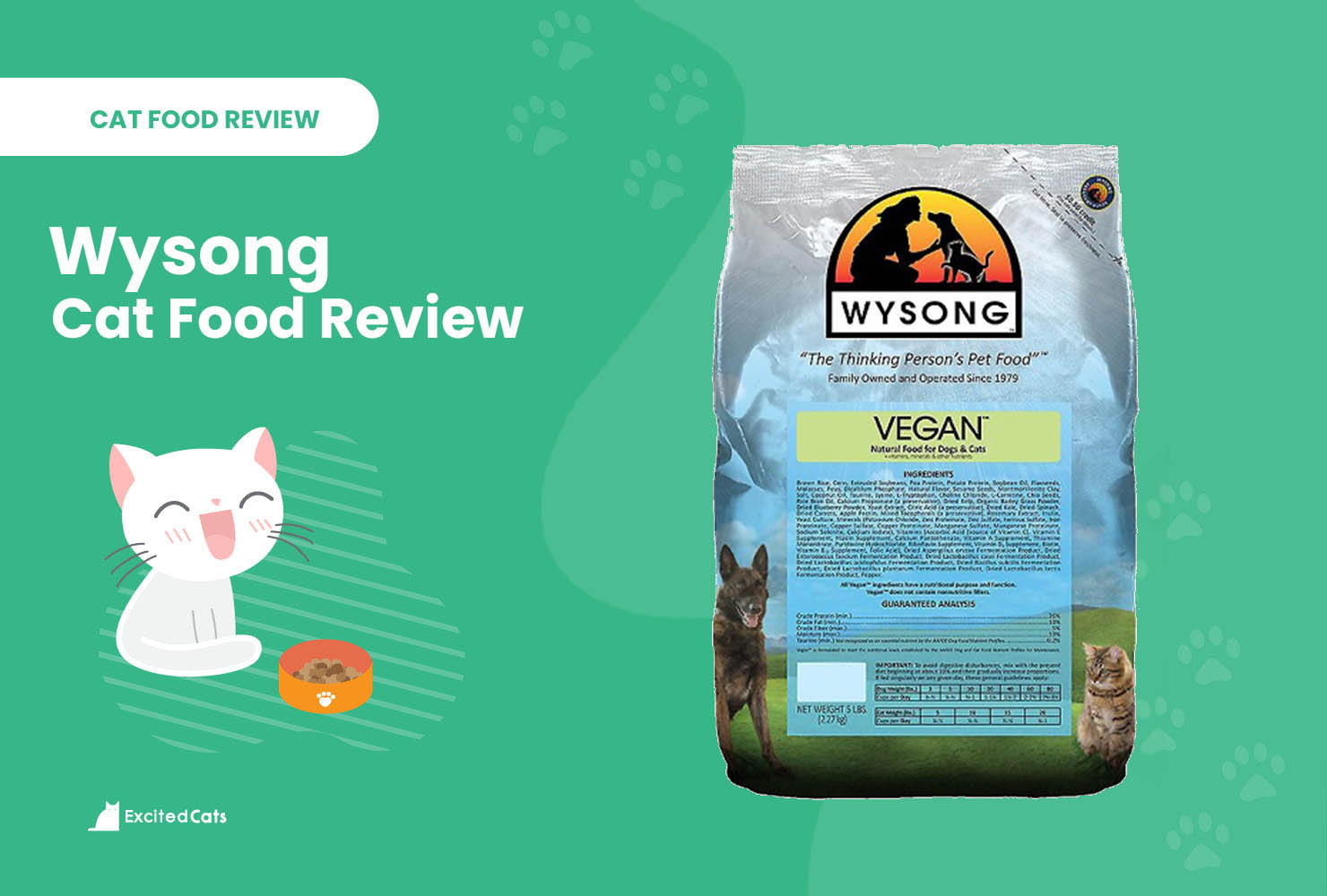 wysong cat food review