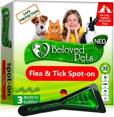 Beloved Pets LY-84 Natural Flea Treatment