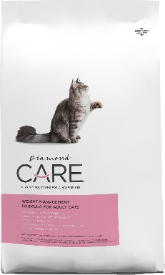 Diamond Care Weight Management Dry Cat Food