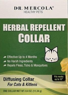 Dr. Mercola Herbal Flea & Tick Repellent Collar