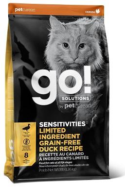 Go! SENSITIVITIES Limited Ingredient Duck Grain-Free Dry Cat Food