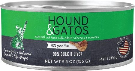 Hound & Gatos Grain-Free Canned Cat Food