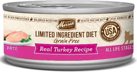 Merrick Limited Ingredient Diet Grain-Free Canned Cat Food
