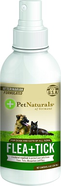 Pet Naturals of Vermont Flea + Tick Spray