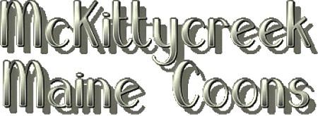 McKittycreek Maine Coons logo