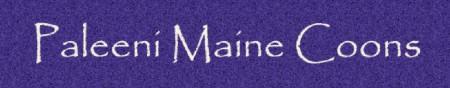 Paleeni Maine Coons logo