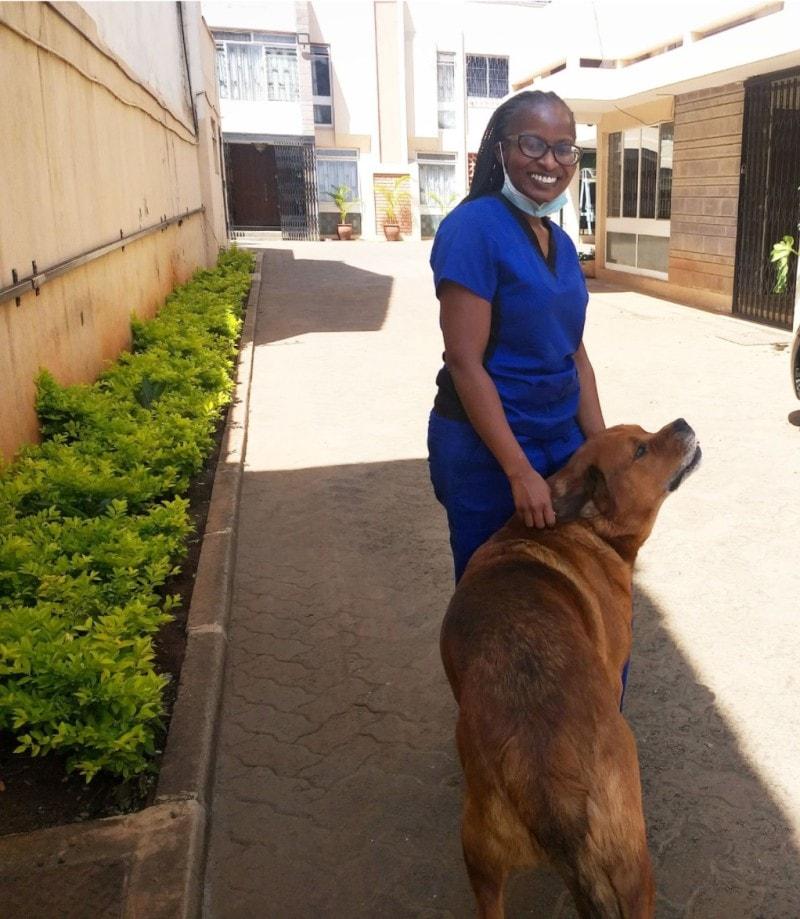 Dr. Maureen Kanana Murithi, Veterinarian